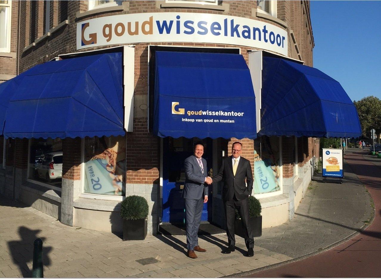 Samenwerking Goudwisselkantoor en Koninklijke Nederlandse munt