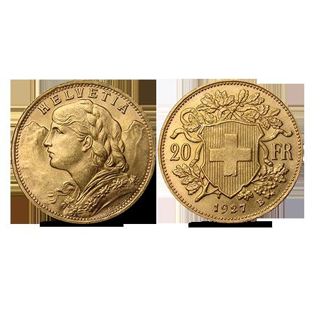 Gouden Vreneli Zwitserland