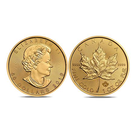 Maple Leaf goud