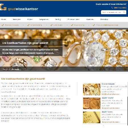 Meer gebruiksgemak op nieuwe website Goudwisselkantoor