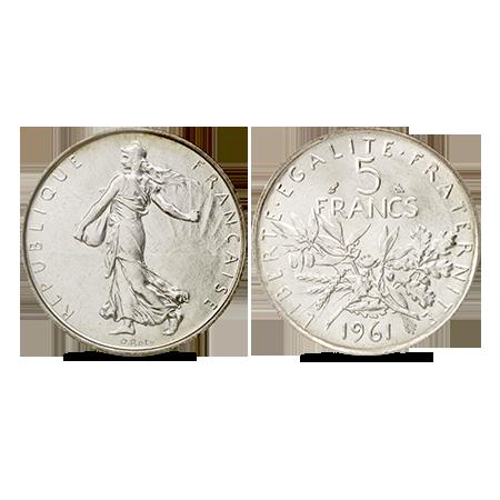 Zilveren Franse frank